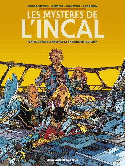 L'INCAL: LES MYSTERES DE L'INCAL