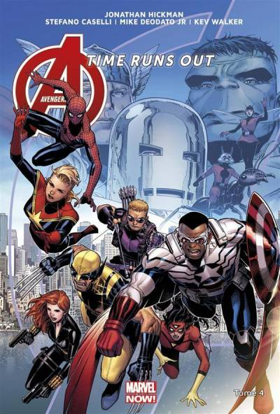 AVENGERS – TIME RUNS OUT #4