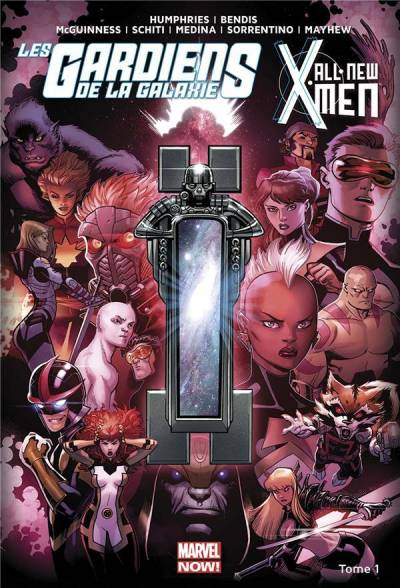 ALL NEW X-MEN/LES GARDIENS DE LA GALAXIE #1: LE VORTEX NOIR