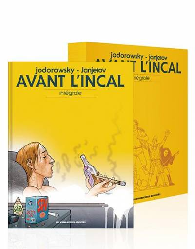 AVANT L'INCAL: INTEGRALE SOUS COFFRET