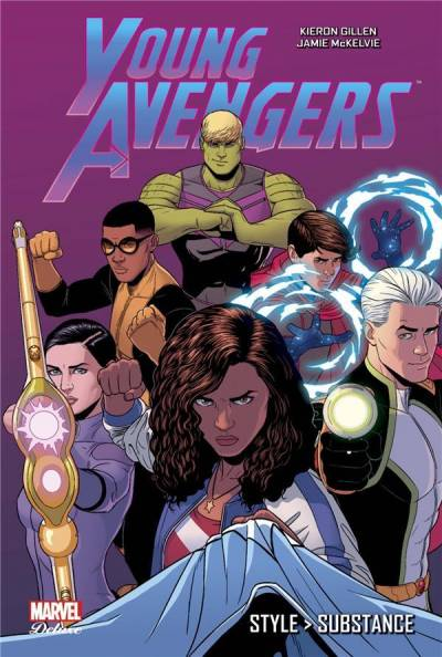 YOUNG AVENGERS: STYLE, SUBSTANCE