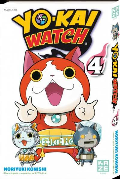 YO-KAI WATCH #4