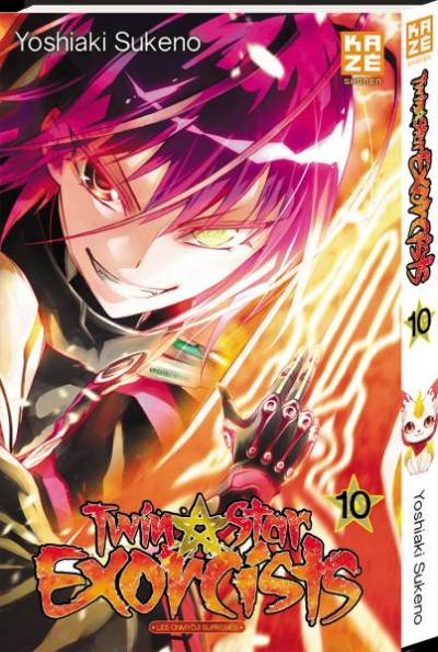 TWIN STAR EXORCISTS #10
