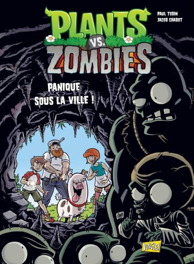 PLANTS VS ZOMBIES #6: PANIQUE SOUS LA VILLE