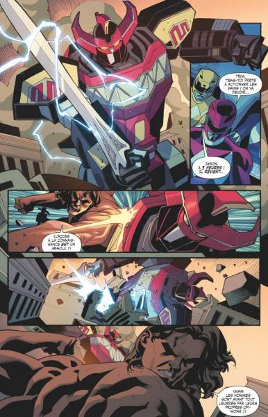 POWER RANGERS #2: L'ERE DU DRAGON NOIR