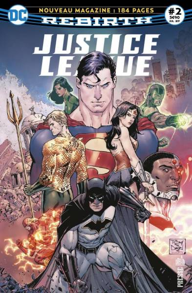 JUSTICE LEAGUE REBIRTH #2