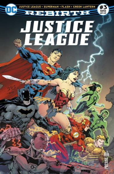 JUSTICE LEAGUE REBIRTH #3