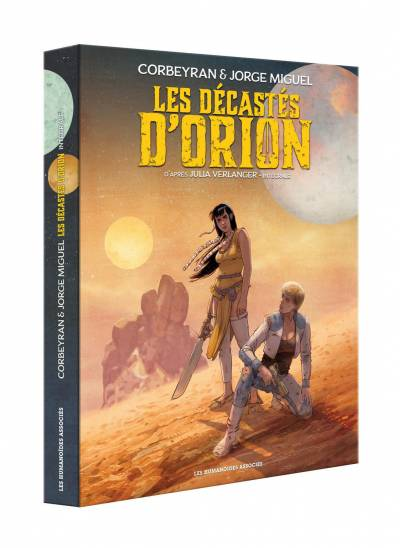 LES DECASTES D'ORION: COFFRET T1&2