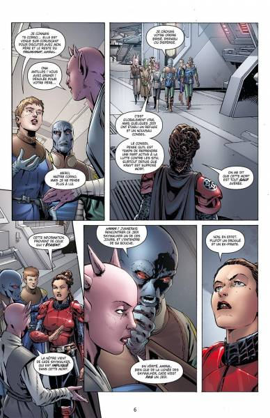 STAR WARS - LEGACY #8: NED