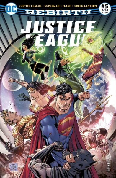 JUSTICE LEAGUE REBIRTH #5