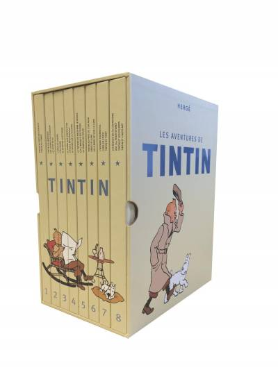 TINTIN: COFFRET INTEGRAL