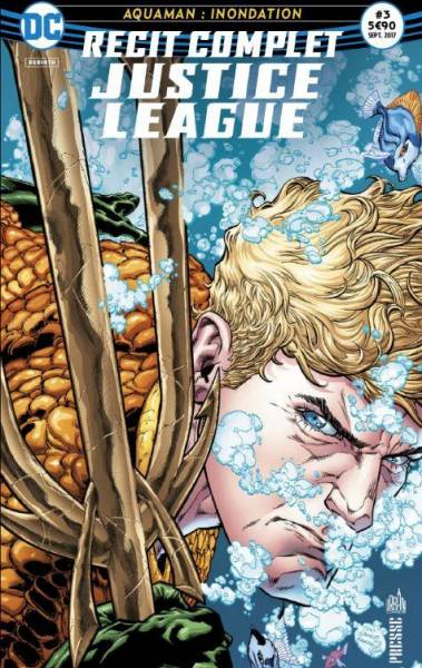 RECIT COMPLET JUSTICE LEAGUE #3: AQUAMAN