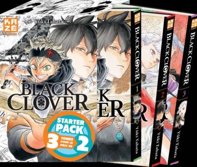 BLACK CLOVER – STARTER PACK