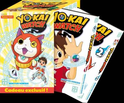 YO-KAI WATCH: COFFRET SAISON 1