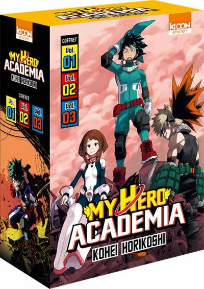 MY HERO ACADEMIA: COFFRET T1 A 3