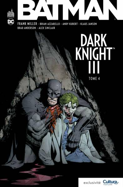 BATMAN DARK KNIGHT III #4: VERSION CULTURA