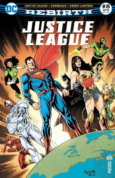 JUSTICE LEAGUE REBIRTH #8