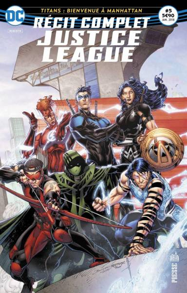 RECIT COMPLET JUSTICE LEAGUE #5