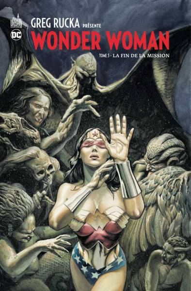 GREG RUCKA PRESENTE WONDER WOMAN #3