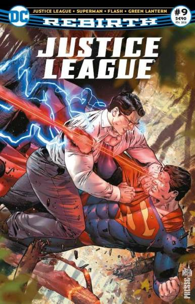 JUSTICE LEAGUE REBIRTH #9