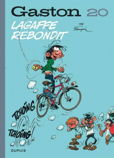 GASTON (EDITION 2018) #20: LAGAFFE REBONDIT