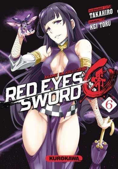 RED EYES SWORD ZERO – AKAME GA KILL ! ZERO #6