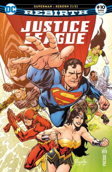 JUSTICE LEAGUE REBIRTH #10