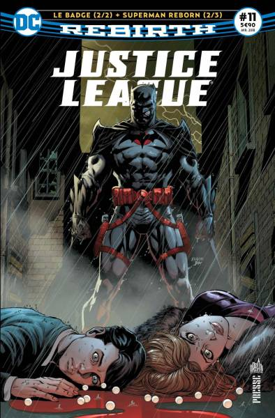 JUSTICE LEAGUE REBIRTH #11
