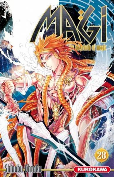 MAGI – THE LABYRINTH OF MAGIC #28
