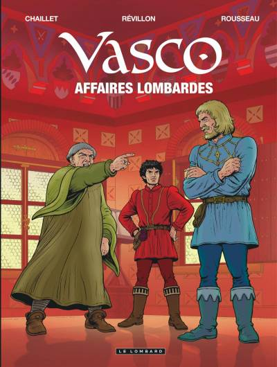 VASCO #29: AFFAIRES LOMBARDES