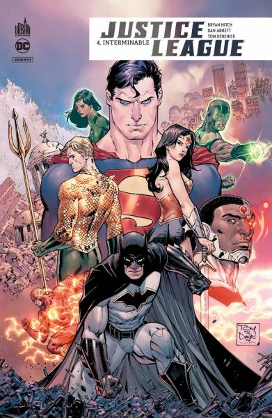 JUSTICE LEAGUE REBIRTH #4