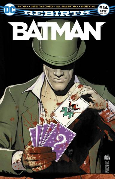 BATMAN REBIRTH #14