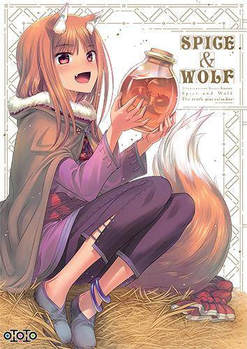 SPICE & WOLF: ARTBOOK:  THE TENTH YEAR CALVADOS