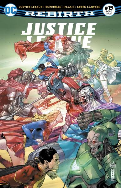 JUSTICE LEAGUE REBIRTH #15