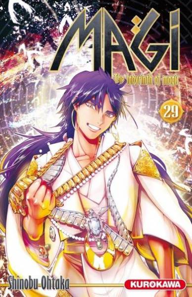 MAGI – THE LABYRINTH OF MAGIC #29
