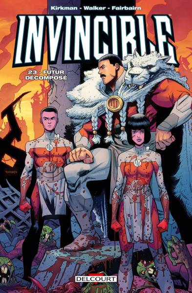 INVINCIBLE #23: FUTUR DECOMPOSE