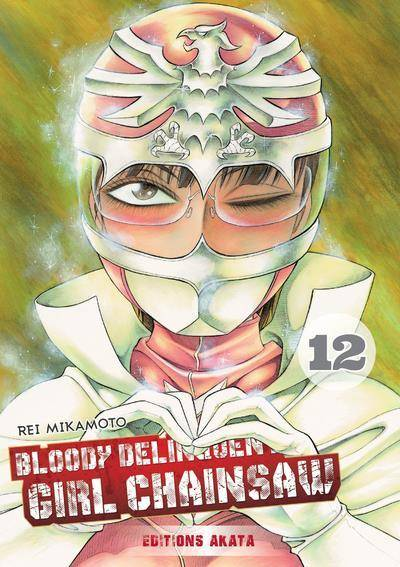 BLOODY DELINQUENT GIRL CHAINSAW #12