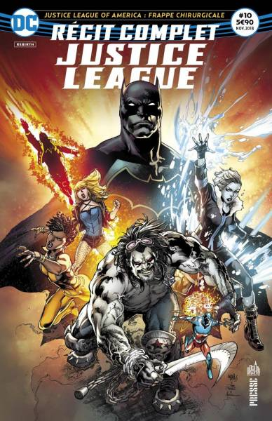 RECIT COMPLET JUSTICE LEAGUE #10