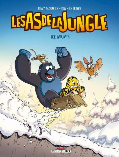 AS DE LA JUNGLE (LES) #2: ICE MICMAC