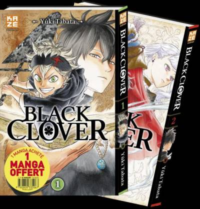 BLACK CLOVER: PACK DECOUVERTE T01+T02