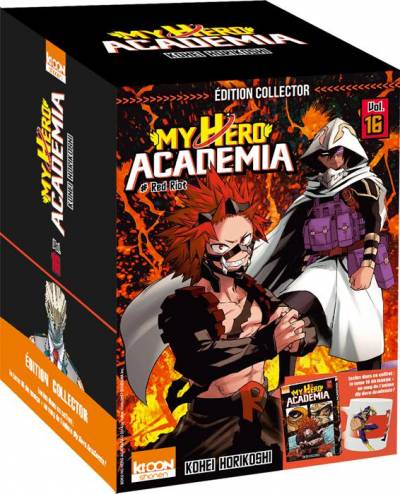 MY HERO ACADEMIA #16: EDITION COLLECTOR