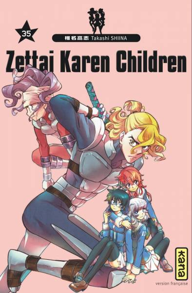 ZETTAI KAREN CHILDREN #35