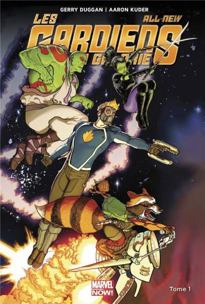 LES ALL-NEW GARDIENS DE LA GALAXIE #1