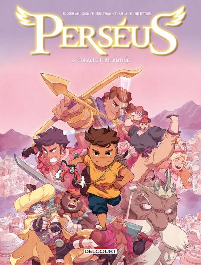 PERSEUS #2: L'ORACLE D'ATLANTIDE