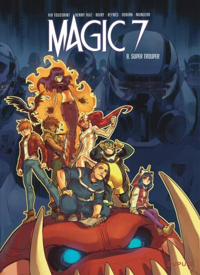 MAGIC 7 #8: SUPER TROUPER