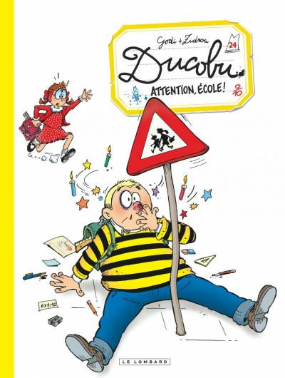 DUCOBU #24: ATTENTION ECOLE!