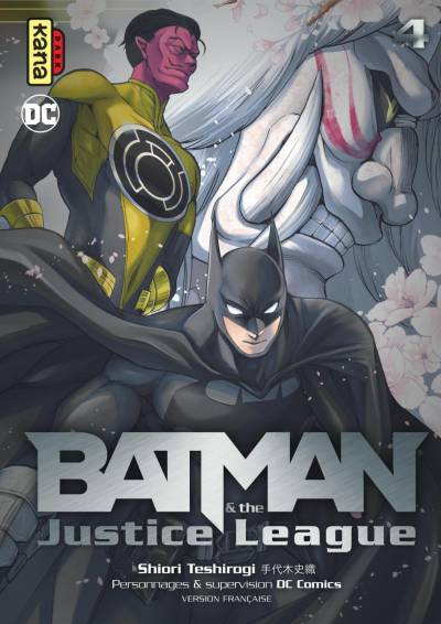 BATMAN AND THE JUSTICE LEAGUE #4