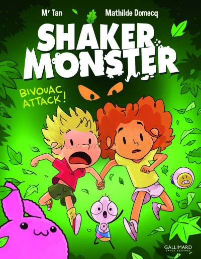 SHAKER MONSTER #4: BIVOUAC ATTACK !