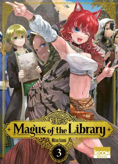 MAGUS OF THE LIBRARY #3