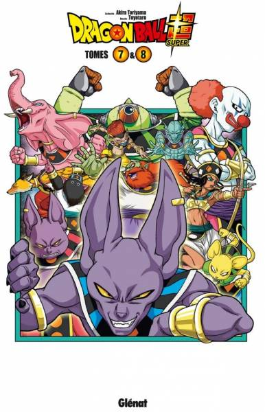 DRAGON BALL SUPER: COFFRET TOME 07-08